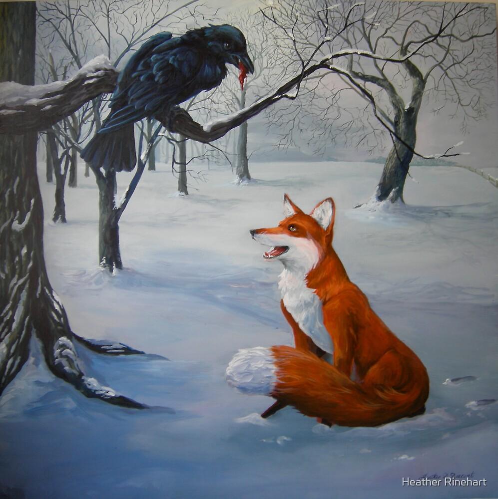 Flattering the Crow by Heather Rinehart