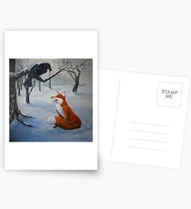 Flattering the Crow Postcards