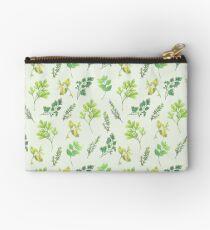 Herb Garden Zipper Pouch