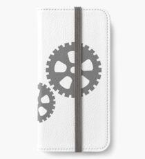 Zahnrad iPhone Flip-Case/Hülle/Klebefolie