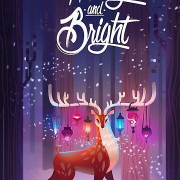 Merry and Bright by JuliaBlattman