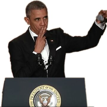 Obama Drops Mic  by prodesigner2
