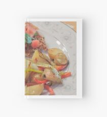 Parmesan Crusted Chicken Breast Hardcover Journal