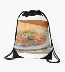 Parmesan Crusted Chicken Breast Drawstring Bag
