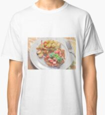Parmesan Crusted Chicken Breast Classic T-Shirt