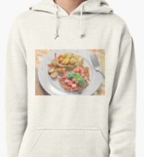 Parmesan Crusted Chicken Breast Pullover Hoodie