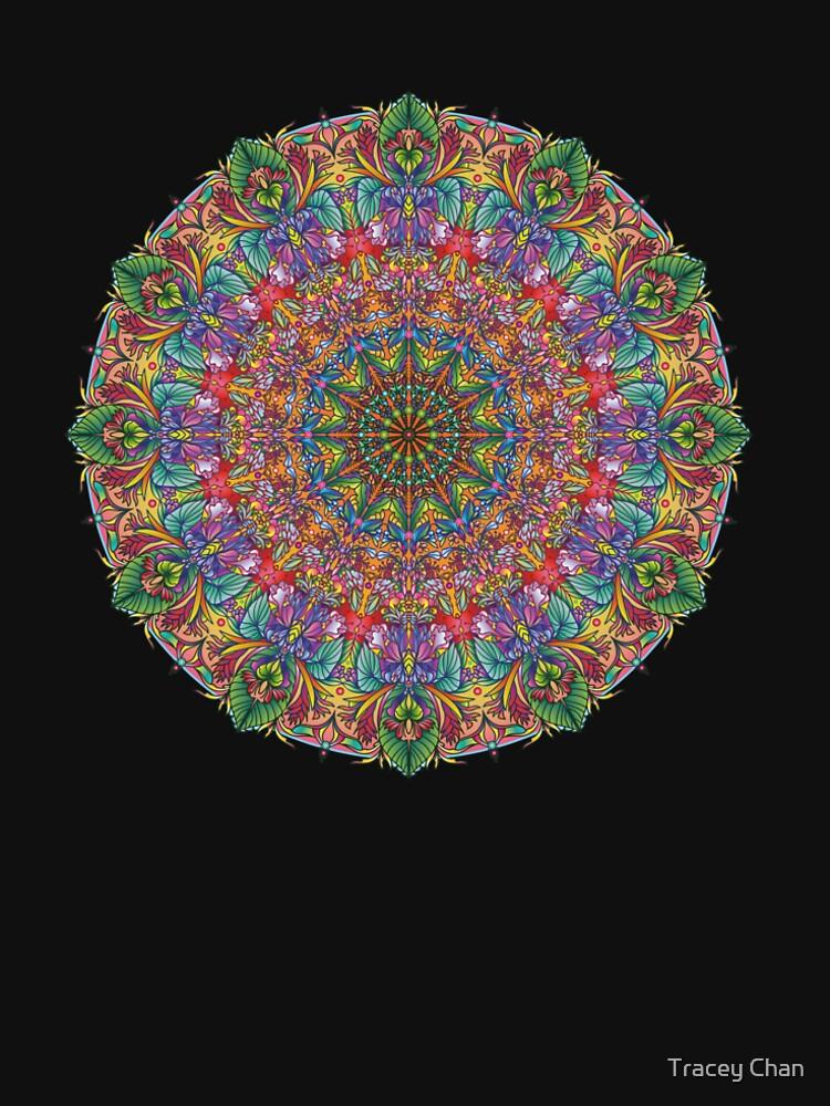 Tropical Mandala by traceychan