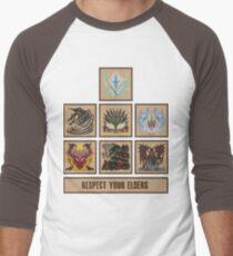Monster Hunter World Elder Dragons Baseball ¾ Sleeve T-Shirt