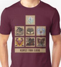 Monster Hunter World Elder Dragons Unisex T-Shirt