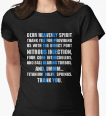 The Fast And The Furious Jesse Grace V1 Women's Fitted T-Shirt
