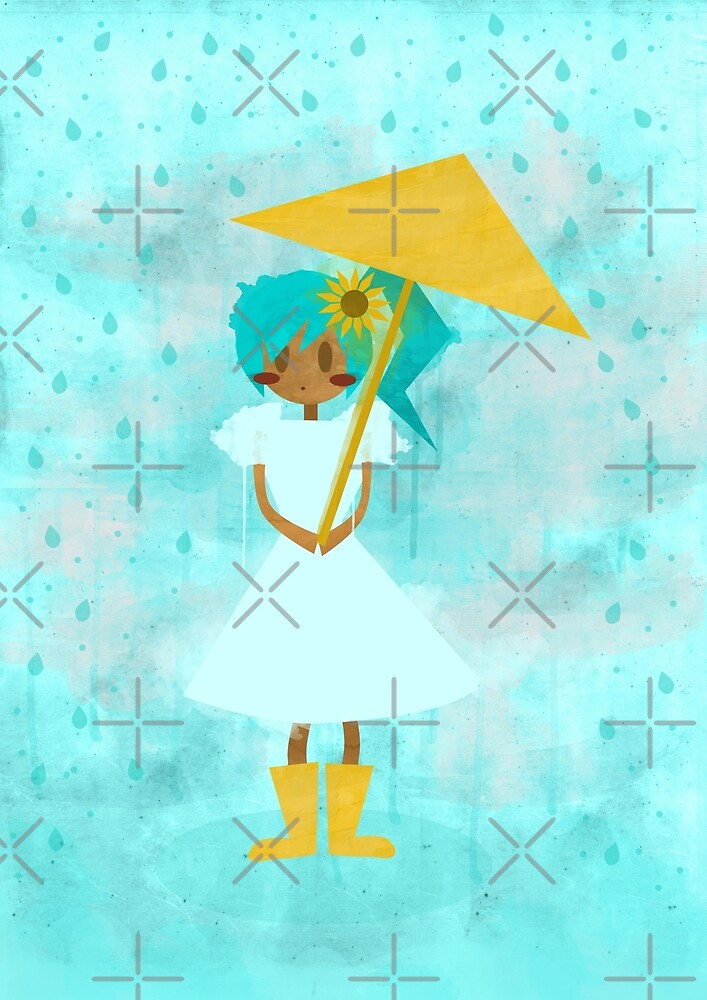 Sunflower Showers by Alexa Weidinger
