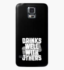 Getränke gut mit anderen Hülle & Klebefolie für Samsung Galaxy