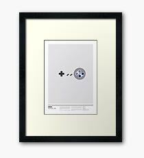 SNES Framed Print