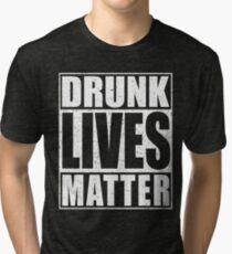 Betrunken lebt Materie Vintage T-Shirt