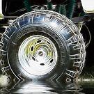 Big Wheel Fractalized by Glenna Walker
