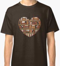 I Herz Bücher Classic T-Shirt