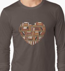 I Heart Books Long Sleeve T-Shirt