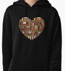 I Heart Books Pullover Hoodie