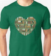 I Heart Books Unisex T-Shirt