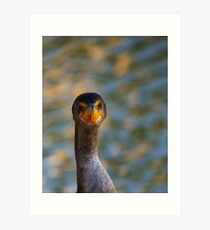 You think this is my best side....? Art Print