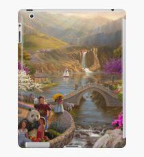 Vinilo o funda para iPad Paraíso en un Valle