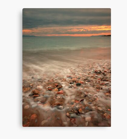 Sea steam Canvas Print
