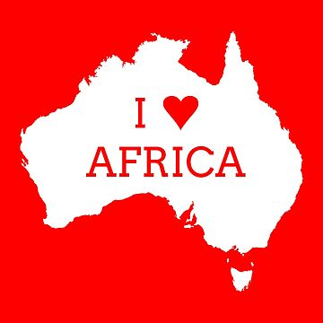 I Love Africa by downbubble17