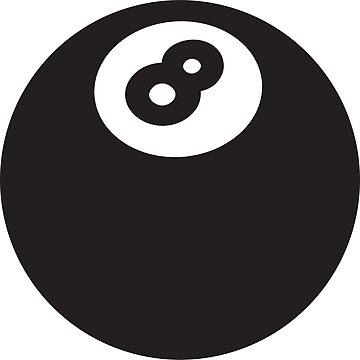 8 Ball Design - Eight Ball T-Shirt Design by shirtpossum