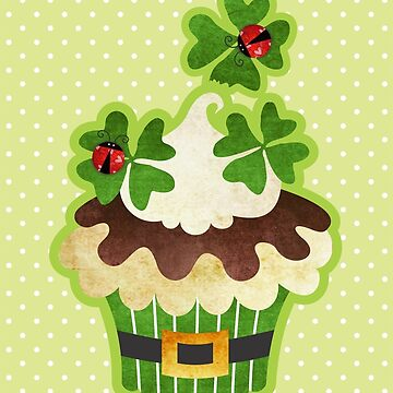 St. Patrick's Day Cupcake by prettycritters