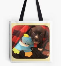 Harry Puppy Potter  Tote Bag