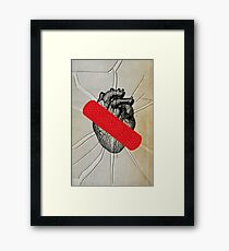 Color Chaos Collection -- First Aid Framed Print