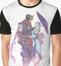 Hayabusa X Kagura Graphic T-Shirt