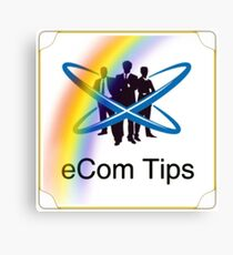 eCom Tips Publication  Canvas Print
