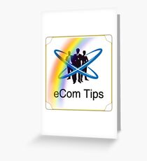 eCom Tips Publication  Greeting Card