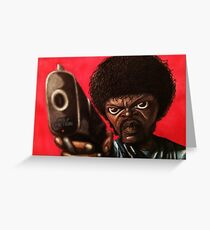 Jules from Pulp Fiction Greeting Card