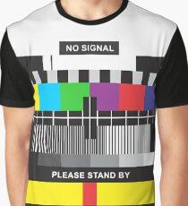 TV No Signal Graphic T-Shirt