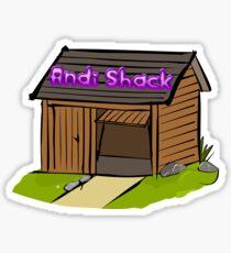 Andi Shack Sticker