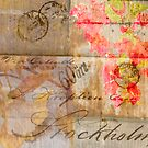 Old Letter Collage by Virginia Maguire