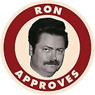 Ron Swanson Parks And Rec  by prodesigner2