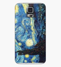 Sternennacht - Vincent Van Gogh Hülle & Klebefolie für Samsung Galaxy