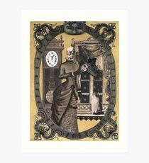 Eugenia Planchette - A Horrifying Tale Kunstdruck