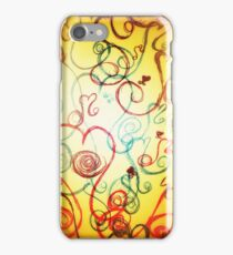 Like a Dream Ink Art by Pauline Campos iPhone Case/Skin