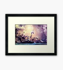 All We Want To Be Are Dreamers Framed Print