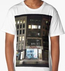 Apartment, New York, Manhattan, Brooklyn, New York City, architecture, street, building, tree, car,   Long T-Shirt