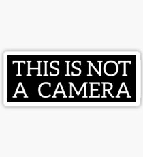 This is not a Camera Sticker