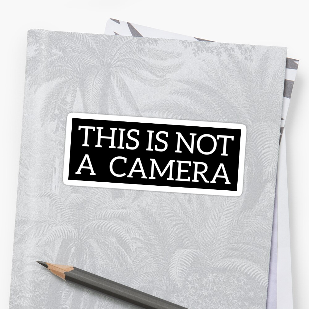 This is not a Camera by Grant Sewell