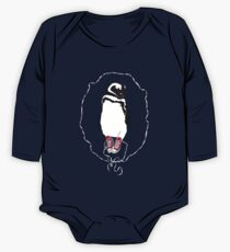 Happy Penguin in Converse One Piece - Long Sleeve