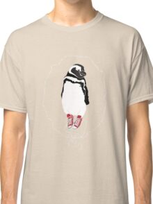 Happy Penguin in Converse Classic T-Shirt