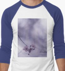 Tree blossom flowers on spring day in Spain Hasselblad square medium format film analogue photography Men's Baseball ¾ T-Shirt