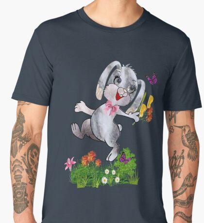 Bunny wishes Men's Premium T-Shirt